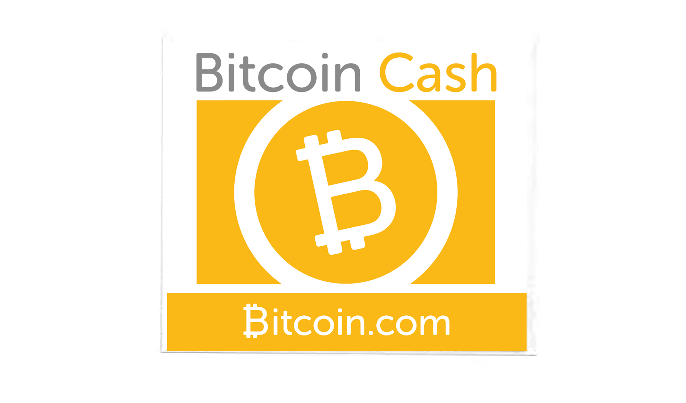 Bitcoin Cash Stickers (5 Pack)