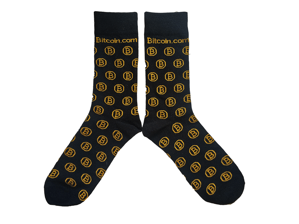 Bitcoin.com Limited Edition Socks