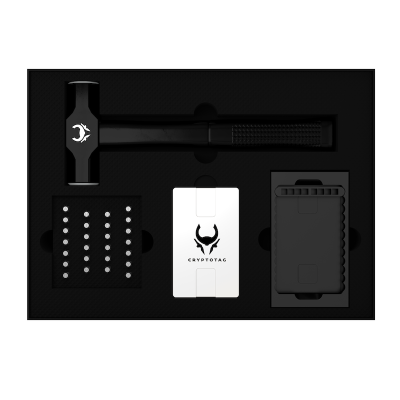 CRYPTOTAG - Starter Kit
