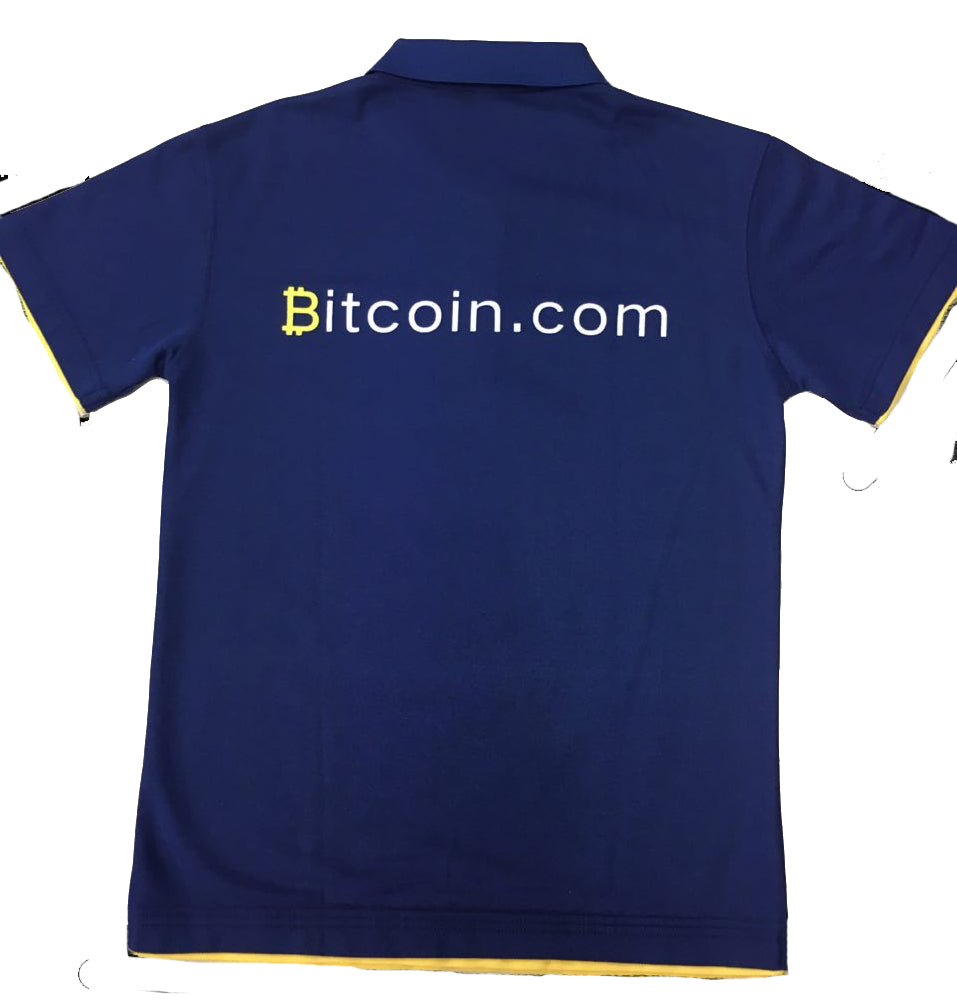 Bitcoin.com Polo - Pack of 3 - Buy Products with Cryptocurrency