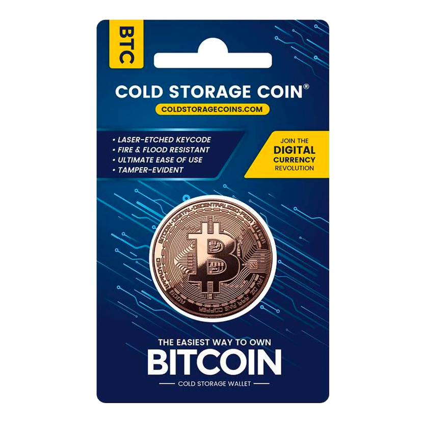 Cold Storage Coin - BTC - Buy Products with Cryptocurrency