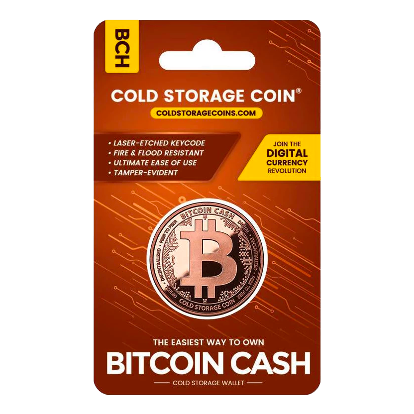 Cold Storage Coin - BCH - Buy Products with Cryptocurrency