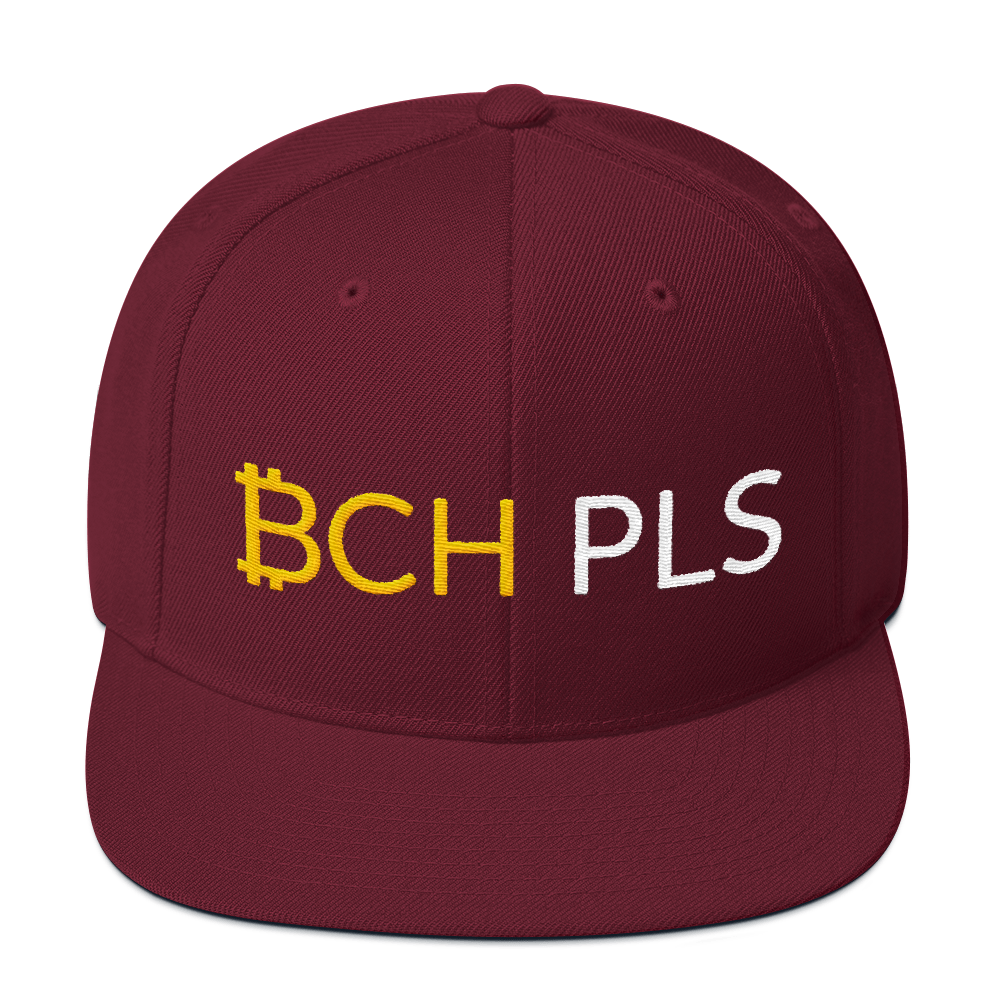 BCH PLS Snapback - Buy Products with Cryptocurrency
