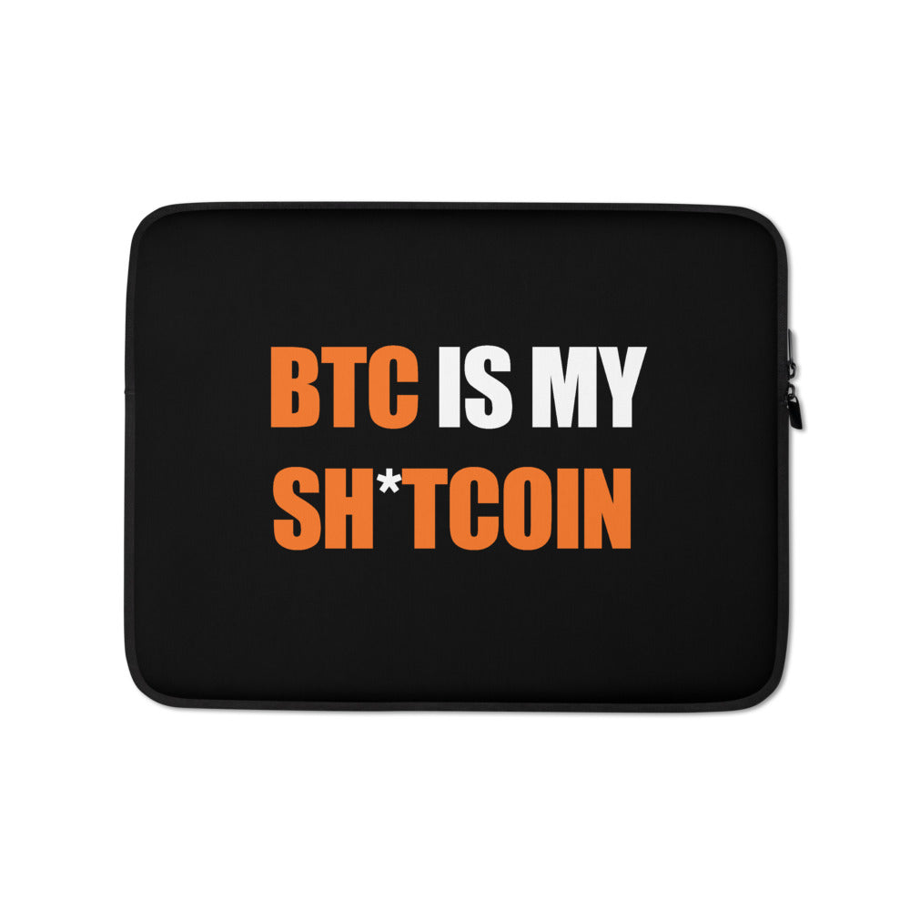 BTC Laptop Sleeve - Buy Products with Cryptocurrency