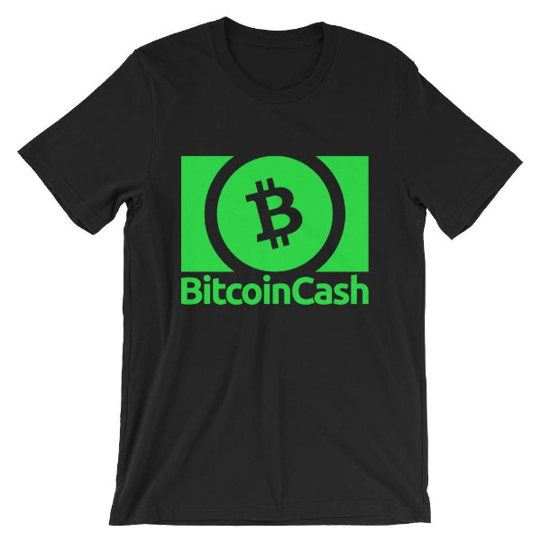 Bitcoin Cash Vibrant Green Tee