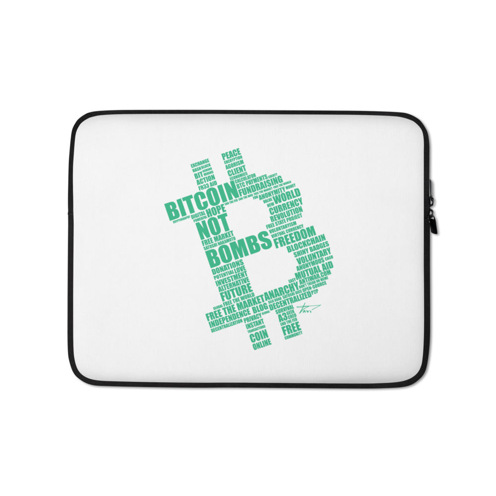 Bitcoin Laptop Sleeve