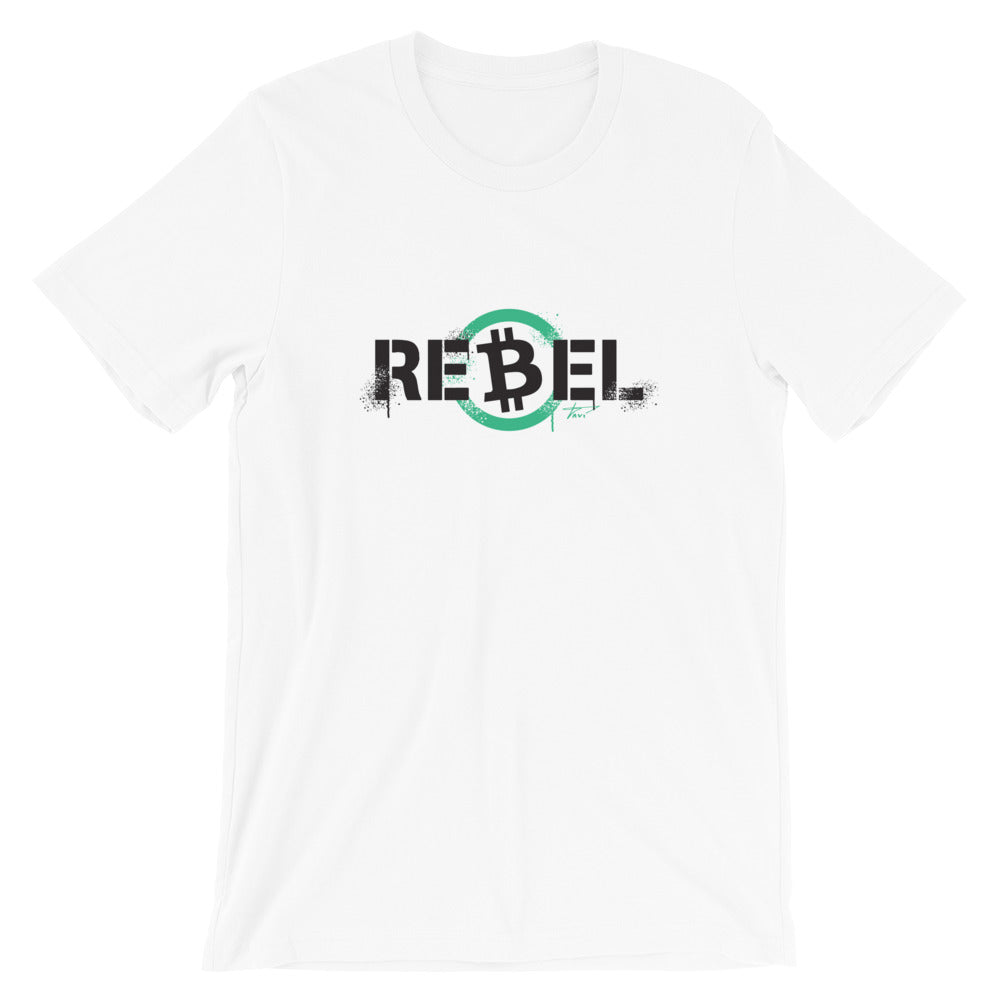 The Rebel in White - Buy Products with Cryptocurrency