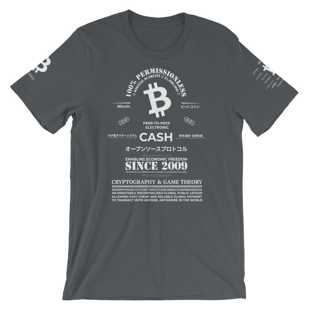 Peer-to-Peer Electronic Cash Tee