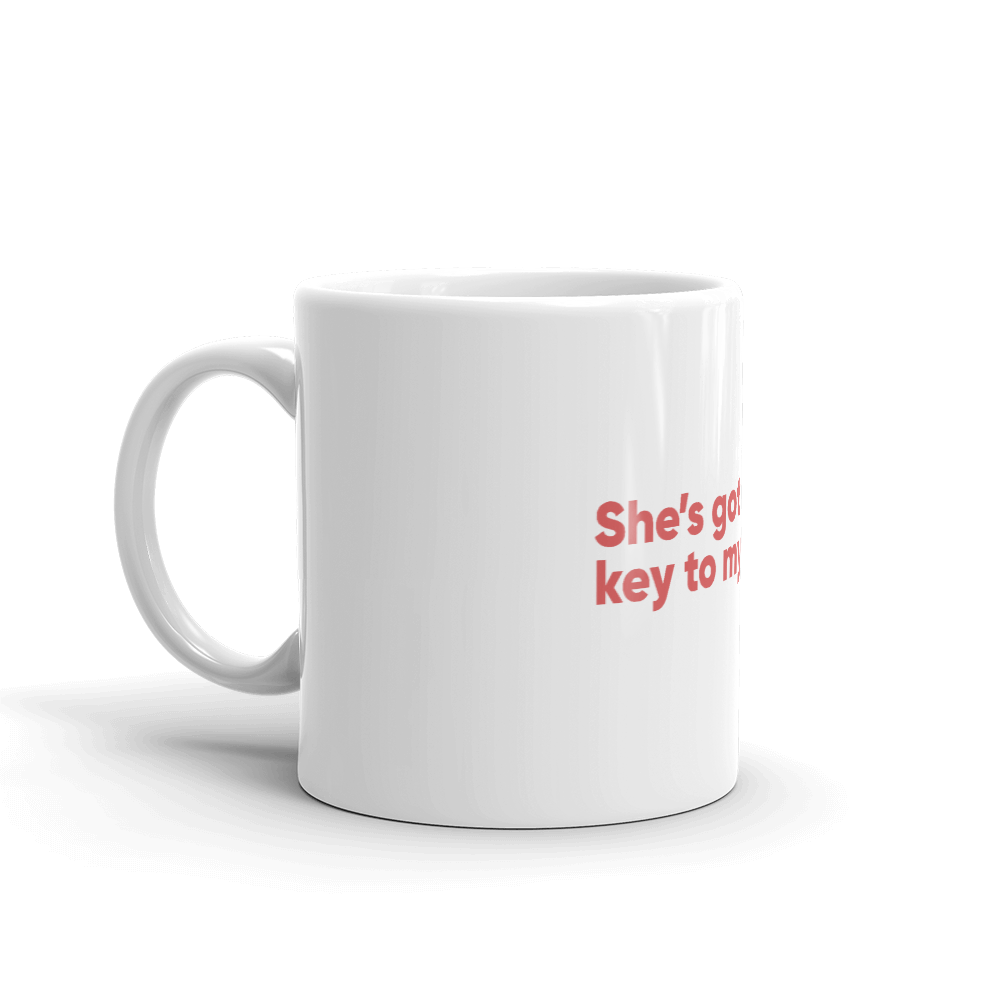 Matching Couple Men's Mug - Buy Products with Cryptocurrency