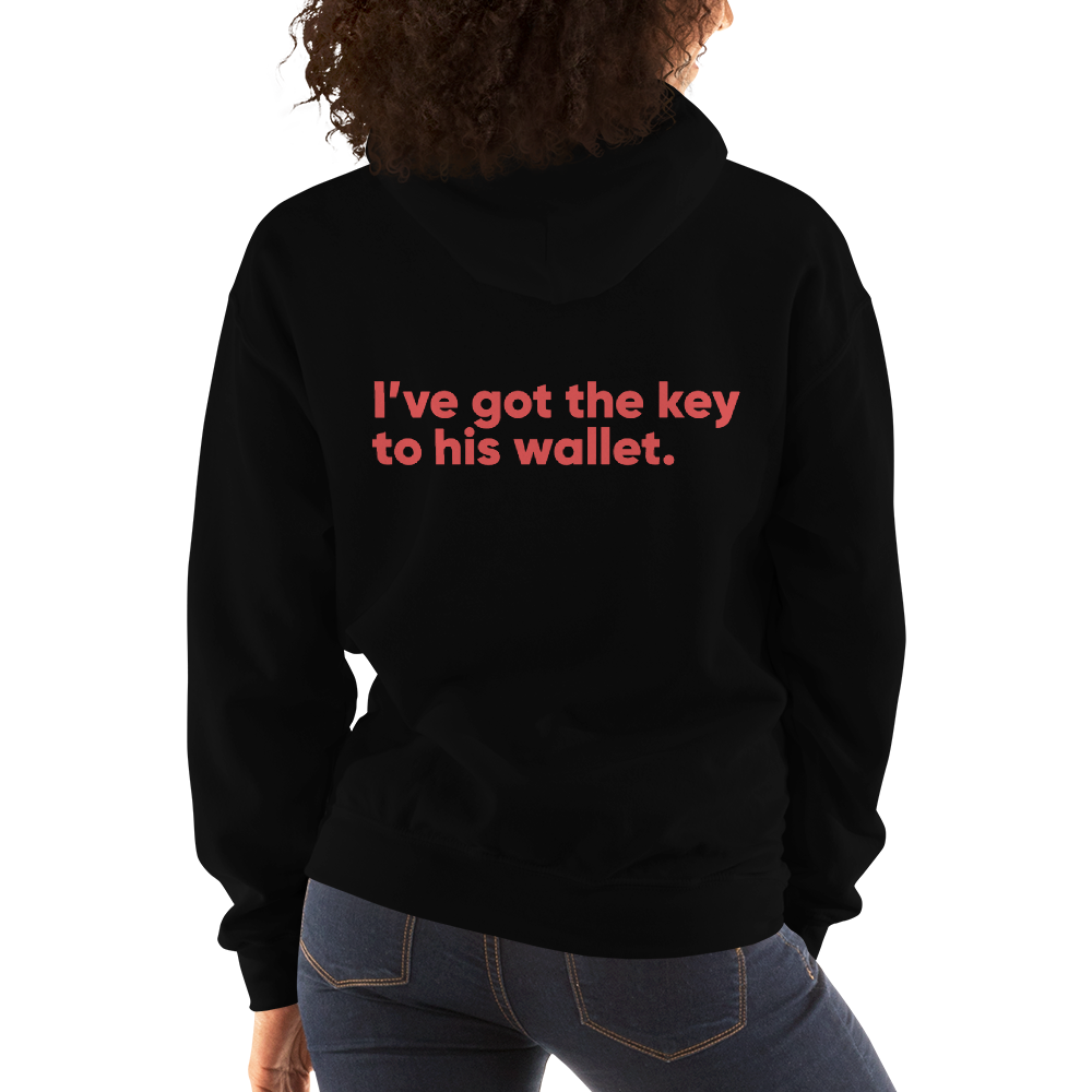 Matching Couple Women's Hoodie - Buy Products with Cryptocurrency
