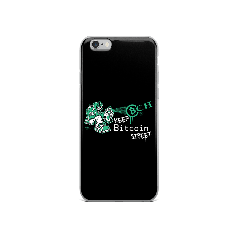 Keep Bitcoin Street iPhone Case