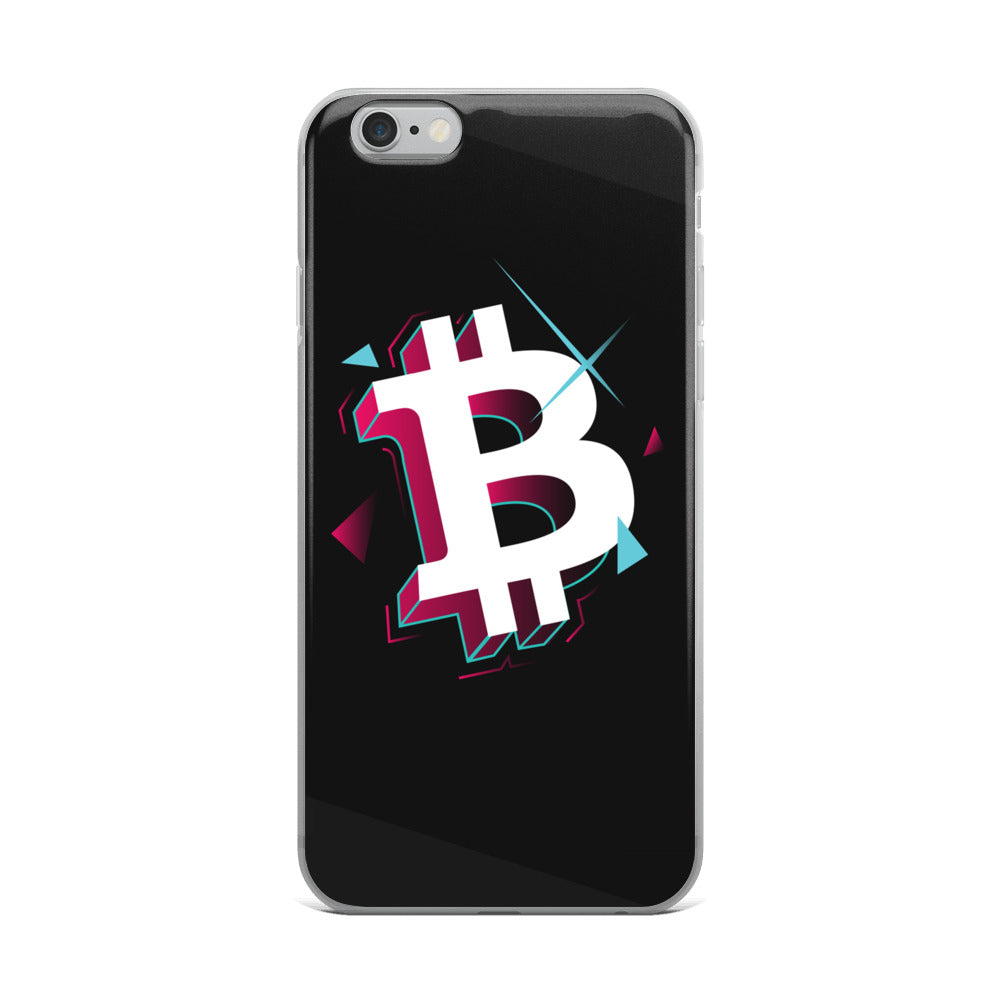 Retro B iPhone Case