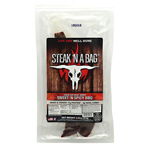 Runnin Wild Foods Steak N A Bag Thick Cut