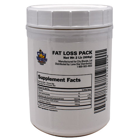 City Blends Fat Loss Pack