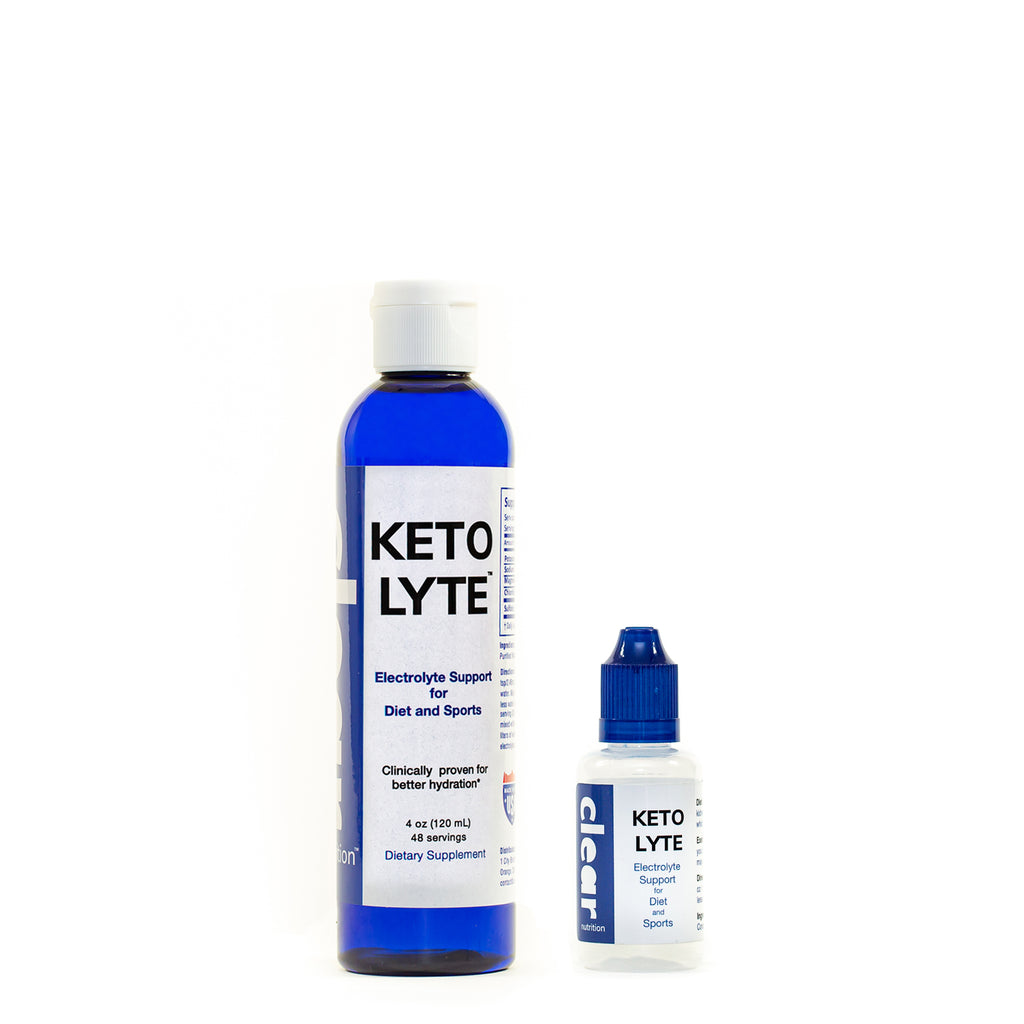 Keto Lyte Electrolyte Drops for Keto Flu, Leg Cramps | Rapid