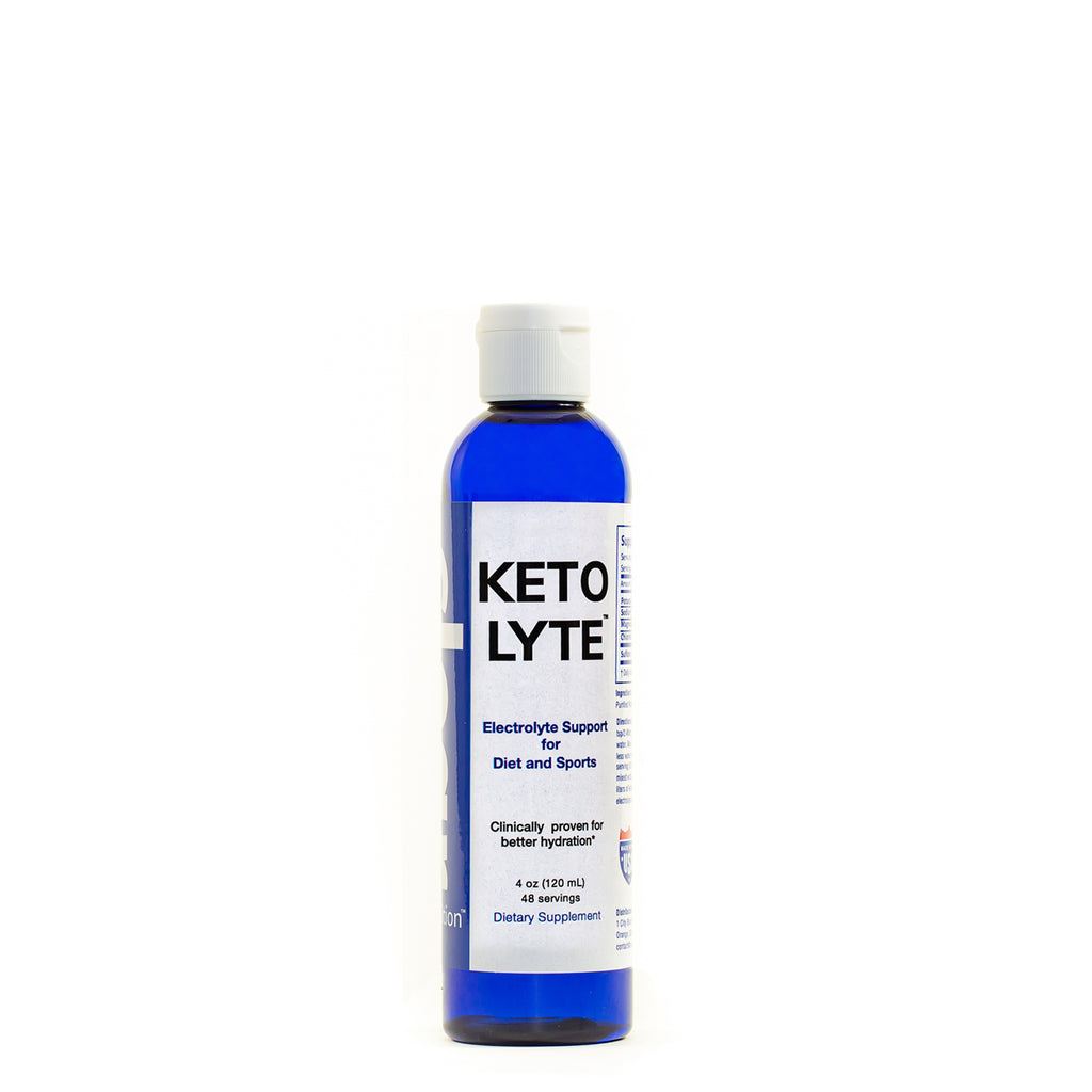 Keto Lyte Electrolyte Drops for Keto Flu, Leg Cramps | Rapid Hydration | NO Sugar - NO CARB - NO ADDITIVES | Made in USA