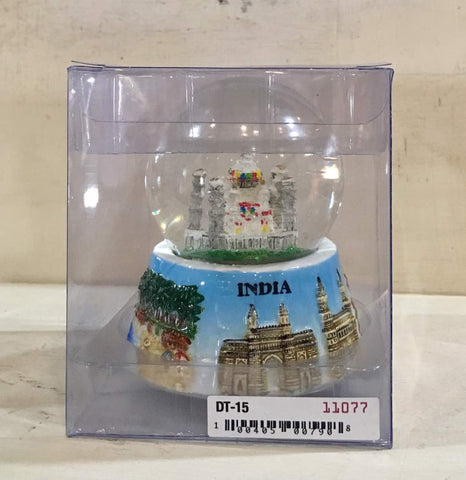 Souvenir: India - Taj Mahal Water Ball 9 cm