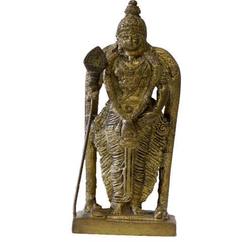BRASS - Handmade Figure: Antique God Figure