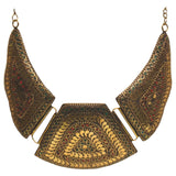 Brass Necklace with inlay work - Exquisite Shop - 1