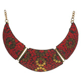 Brass Necklace with inlay work - Exquisite Shop - 8