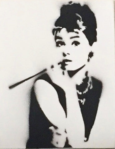 "Audrey Hepburn 10""x12"" - Exquisite Shop"