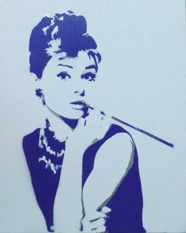 "Audrey Hepburn 20""x16"" - Exquisite Shop"