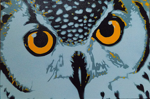 "Owl 18""x12"" - Exquisite Shop"