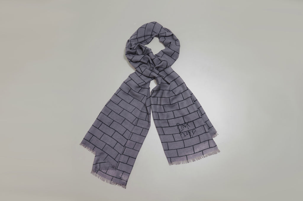GREY Wool scarf