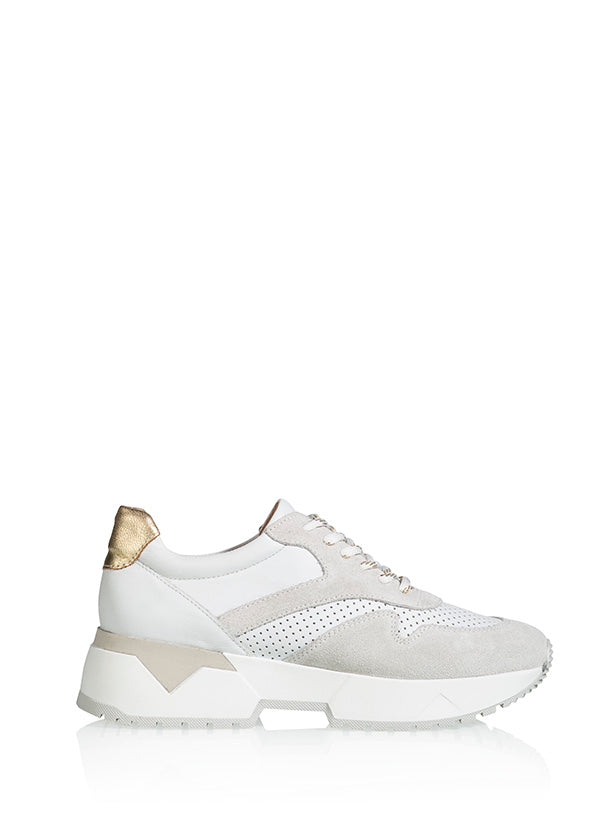 SYDNEY - Sneakers - Wit / Metallic