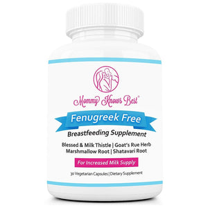Lactation Supplement - Fenugreek Free - 30 Ct