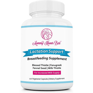 Lactation Supplement - Fenugreek, Blessed Thistle & Milk Thistle - 120 Ct