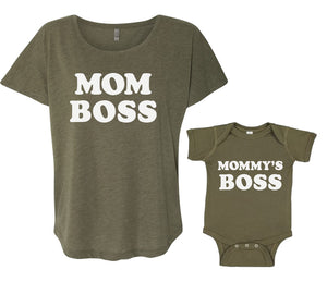 "Mommy Knows Best ""Mom Boss"" and ""Mommy's Boss"" Bundle"