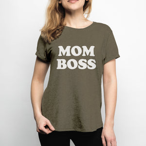 "Mommy Knows Best ""Mom Boss"" Shirt"
