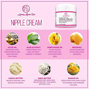 Organic Soothing Nipple Cream - 1 fl. oz.
