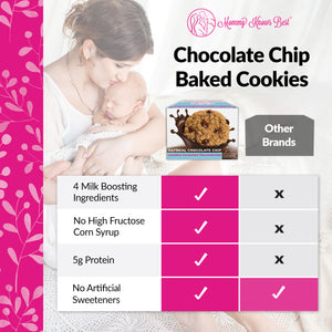 Lactation Cookies - Oatmeal Chocolate Chip - 10 Cookies