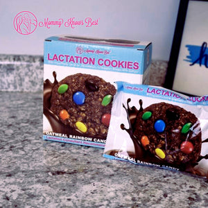Lactation Cookies - Rainbow Candy - 10 Cookies