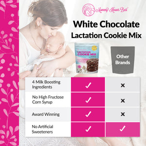 Lactation Cookie Mix - White Chocolate Chip - 16 oz