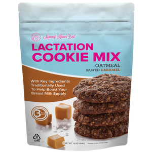 Lactation Cookie Mix - Salted Caramel - 16oz