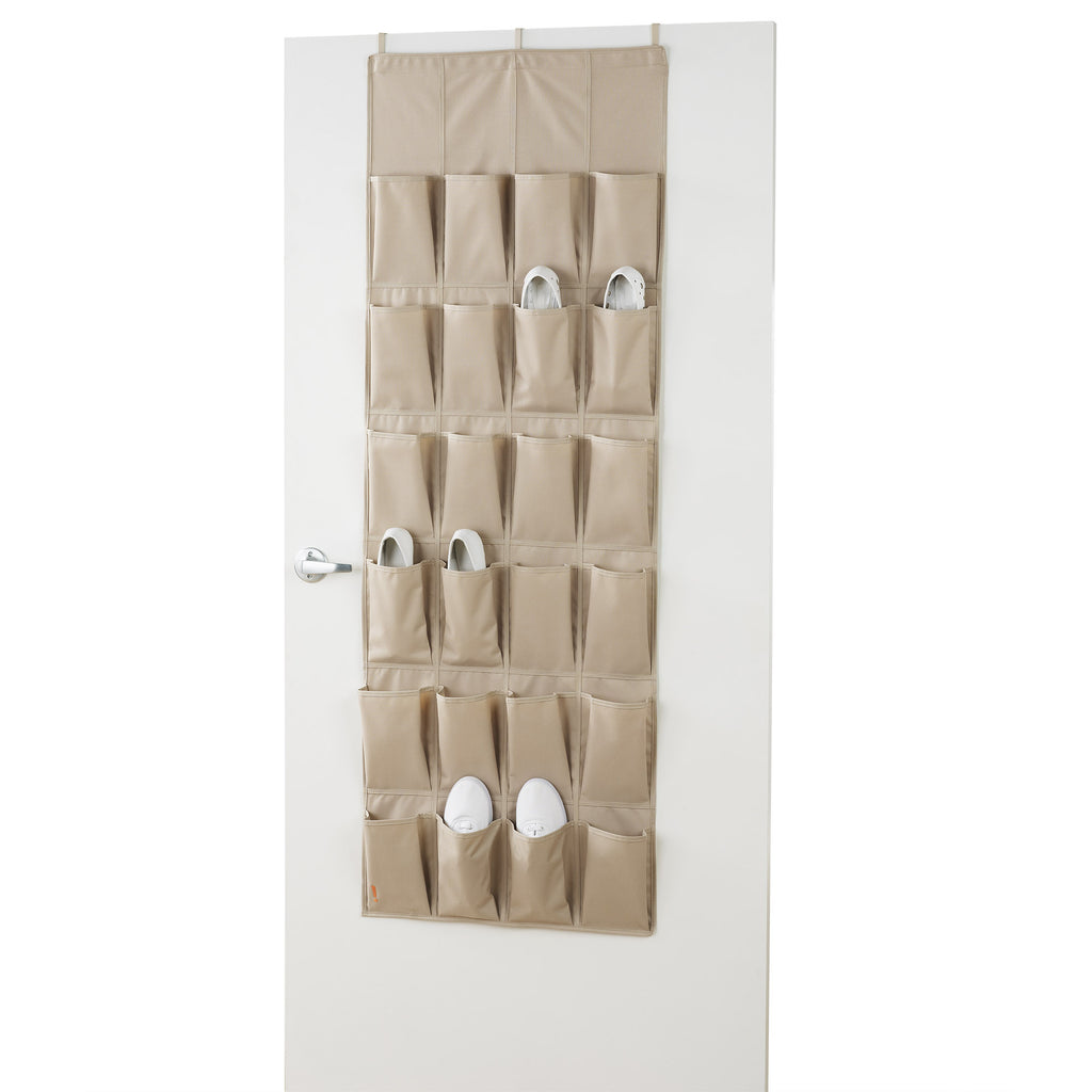 24 Pair Shoe Rack Over the Door Organizer - ClosetMax