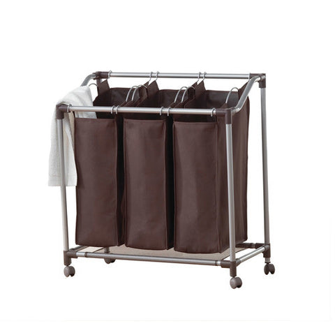 Deluxe Triple Laundry Sorter  - Everfresh