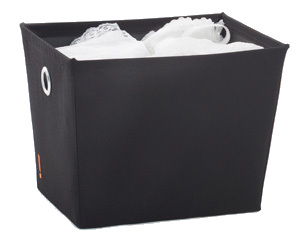 Small Storage Bin - Black