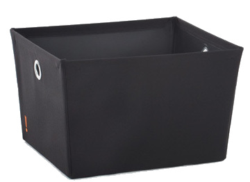 Large Storage Bin - Black