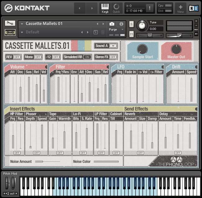 Cassette Mallets.01 Kontakt version