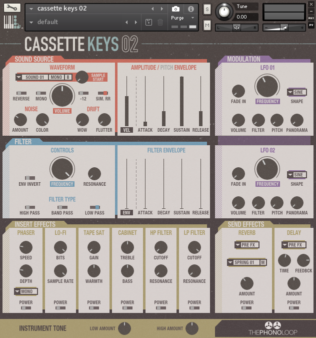Cassette Keys 02 Kontakt version