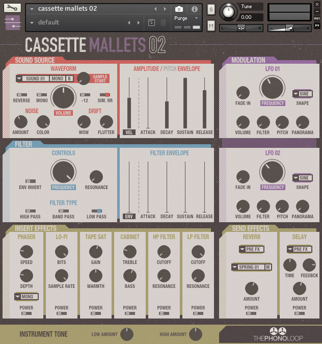 Cassette Mallets 02 Kontakt version