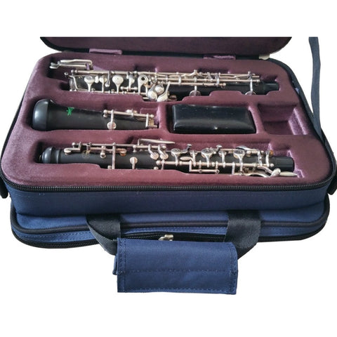 Oboe Case (Gig Bag) by Tom and Will - Blue (27x35x15cm)
