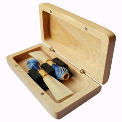 Wooden Bassoon Reed Case (2 Reeds)