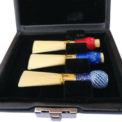 Leather Bassoon Reed Case (3 Reeds)