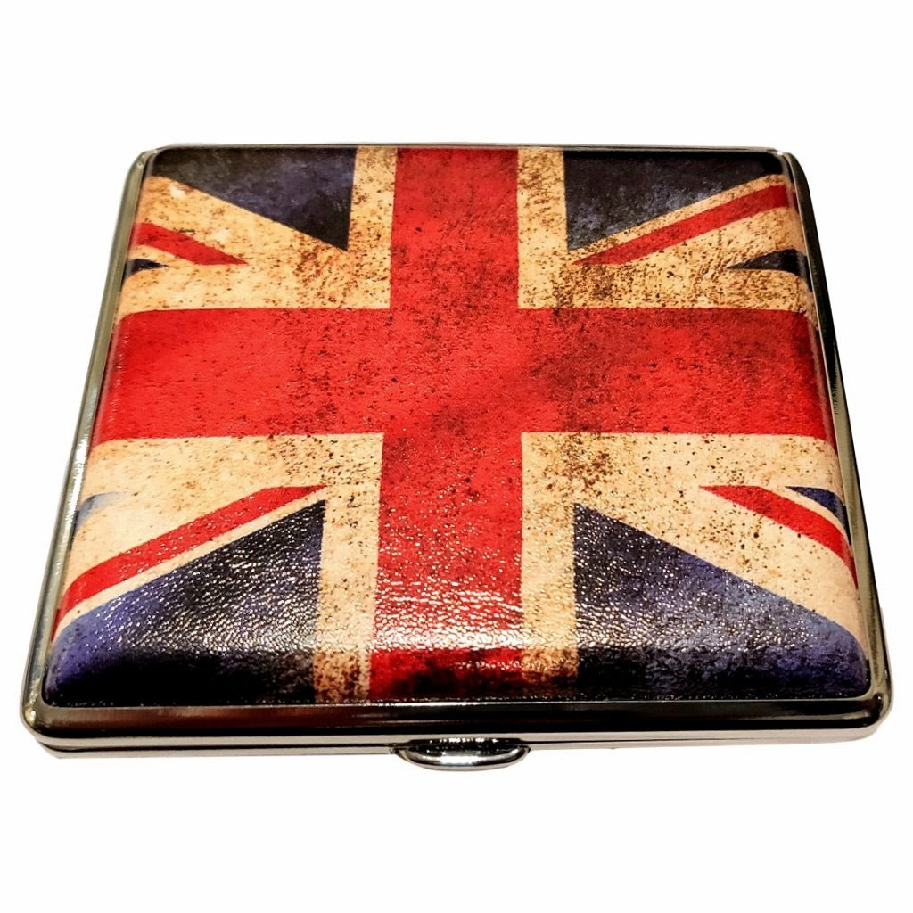 UK Flag Bassoon Reed Case (4 Reeds)
