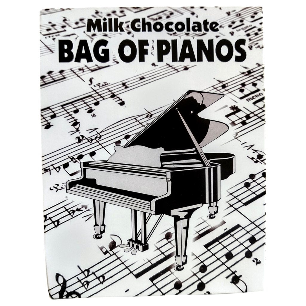 Bag of Belgian Milk Chocolate Grand Pianos (100g)